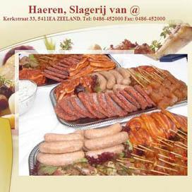 Vleesspaaractie bij slager Van Haeren