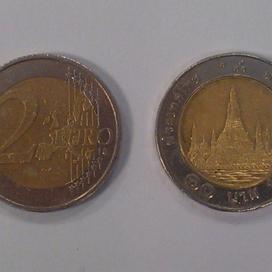 Nederland overspoeld met Thaise munten