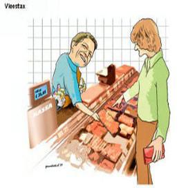Vleestax weer in beeld