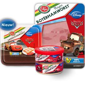 Kips lanceert Cars magere vleeswaren