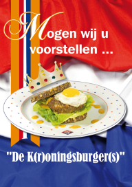 Slager en kok lanceren Kroningsburger