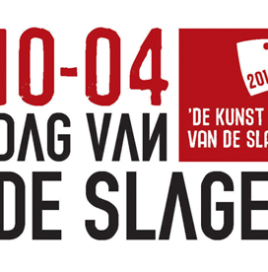 Dag van de Slager in 2014 op 10 april