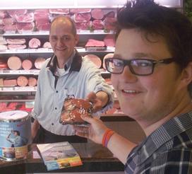 Slager start hamburgeractie voor Thijs Kroezen