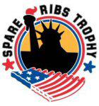 Chef-kok Julius Jaspers reikt Spare Ribs Trophy 2014 uit