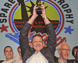 Hermanussen pakt Spare Ribs Trophy