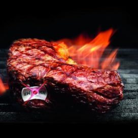 SteakChamp presenteert intelligente vleesthermometer