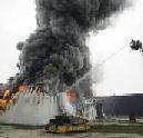 Vleesverwerkingsbedrijf Gruijters door brand verwoest