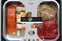 Vlees en vis in één verpakking