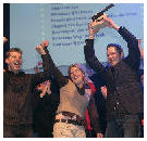 Winnaars Slagerij van het Jaar 2008 dolblij na afloop