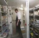 Inbrekers in koelcel slagerij aangehouden