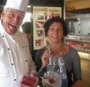 Ria van Tienen wint wedstrijd Culinaire Slagerij Wapenaar