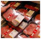 Aanvoer vlees in supers blijft ondanks staking