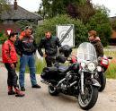 Keurslagers houden motortoertocht