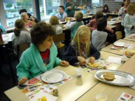 Slagers bij Nationaal Schoolontbijt in 2010?