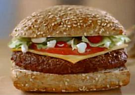 Nieuwe hamburger bij McDonald's