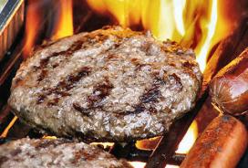 Run op luxe hamburger van Strogoff