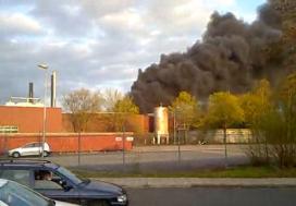 Brand bij Stegeman onder controle
