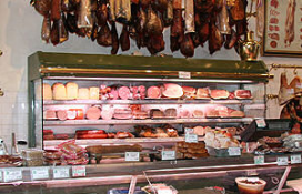 Goorse burger wil slagerij