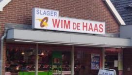 Slager Pieter de Haas volgt vader op