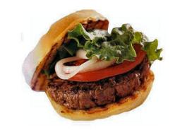 Kaakproblemen door grote hamburgers