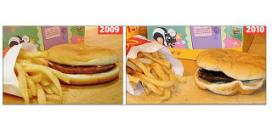 Pleidooi pilletje bij hamburger