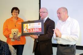 Keurslagers doneren € 3.600,- aan Kika