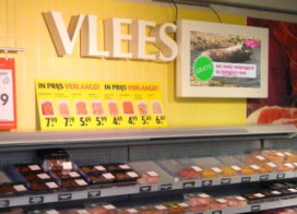 Veehouder verdient minder aan vleesverkoop