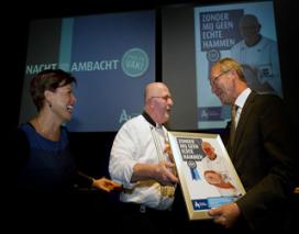 Jan Joosten wint posterwedstrijd Nacht van het Ambacht