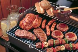 'Bedorven vlees in barbecuepakketten supers'