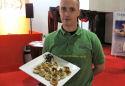 Magnetronbroodje met falafel