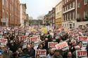 Ierse vleesboeren dreigen Brussel