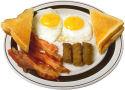 Bacon en worst als ontbijt maakt slanker