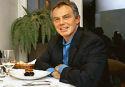 Tony Blair vindt vlees eten oké