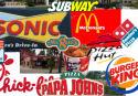 Fast food kruipt naar elkaar toe