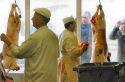 Moslims zamelen 3150 kilo vlees in