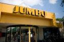 Stukje glas in cordon bleu bij Jumbo