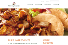 Pure Ingredients lanceert nieuwe website