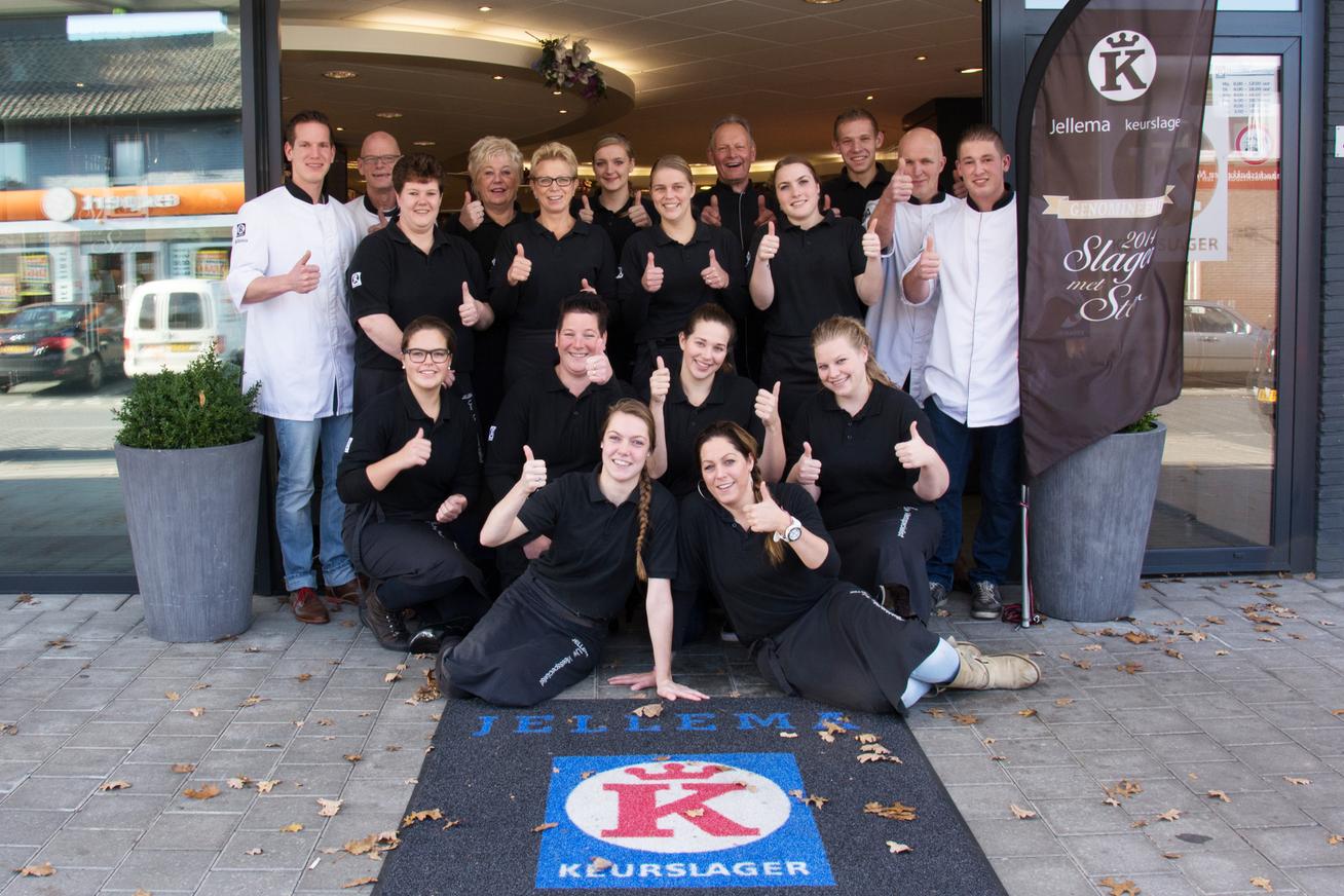 Keurslager Jellema ontvangt als eerste slagerij Beter Leven keurmerk