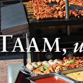 Kijkje in keuken slager Taam