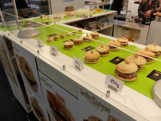 Franse hamburgers van 20 tot ruim 200 gram 560x420