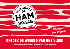 Slagerij de Hamvraag met talkshows, demo's en workshops