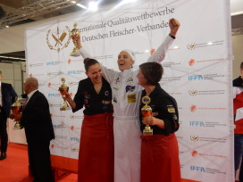 Maarten Wolters Europees Kampioen Young Butchers' Competition 2016