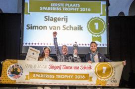 Finalisten Spareribs Trophy 2017 bekendgemaakt