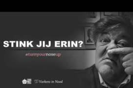 Campagne Varkens in Nood: Turn your nose up