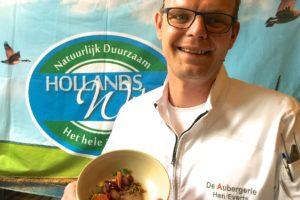 Han Everts wint prijs Beste Ganzengerecht 2016