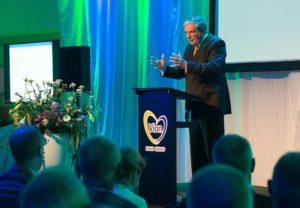 Cees Veerman, voorzitter van de werkgroep Agrarische Markten en oud-minister van Landbouw.