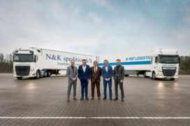 HSF Logistics en N&K Spedition fuseren