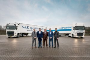 HSF Logistics en N&K Spedition fuseren