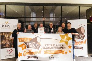 Keurslager Warmenhoven wint Grote Grillworsttest 2017