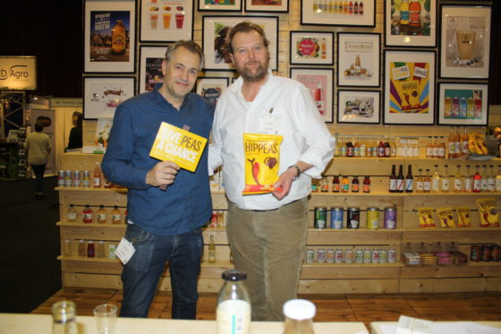 Dmitri Peters (l) en Jelle Schmidt startten 15 jaar geleden met smoothies zonder suiker om een verantwoord drankje te bieden voor de bewuste consument. Daaruit is JetDrinks ontstaan. Ze hebben onder meer ook Clipper Tea en LoveChoc in Nederland geïntroduc